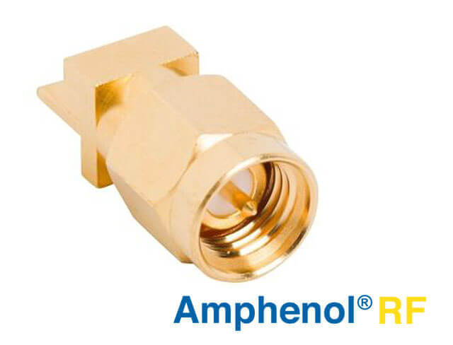 Amphenol RF high frequency end launch plug