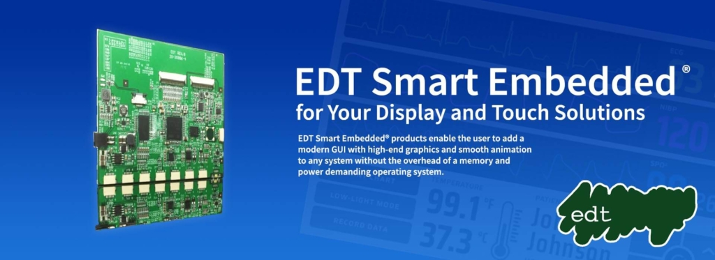 EDT Smart Embedded for Display and Touch Applications