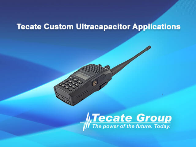 Tecate custom ultracapacitors