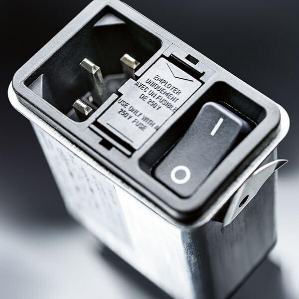 SCHURTER power entry module series DD12