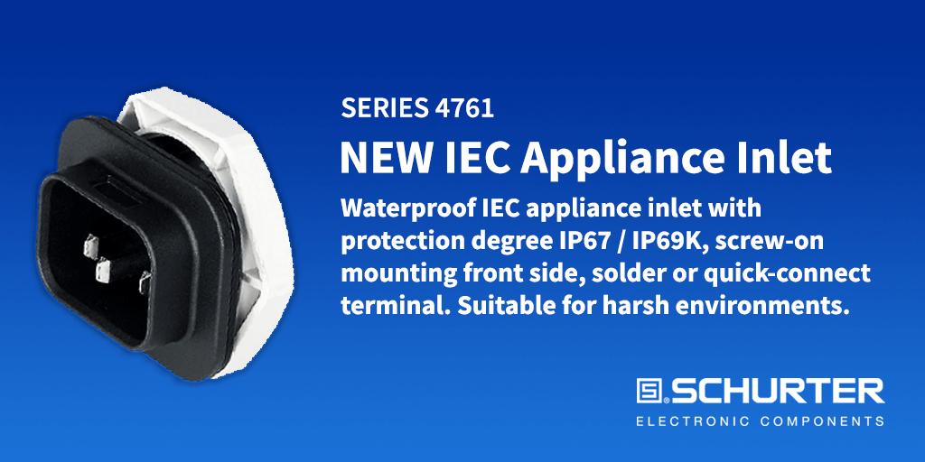 Series 4761 IEC Appliance Inlet