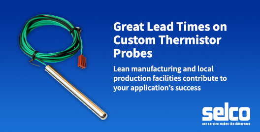 custom thermistor - selco