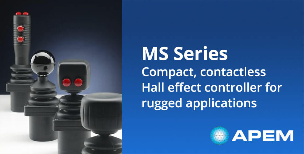 MS Series compact contactless joysticks
