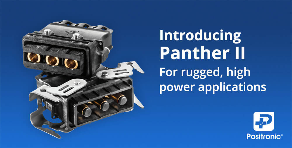 Panther II Connector for Rugged Environments