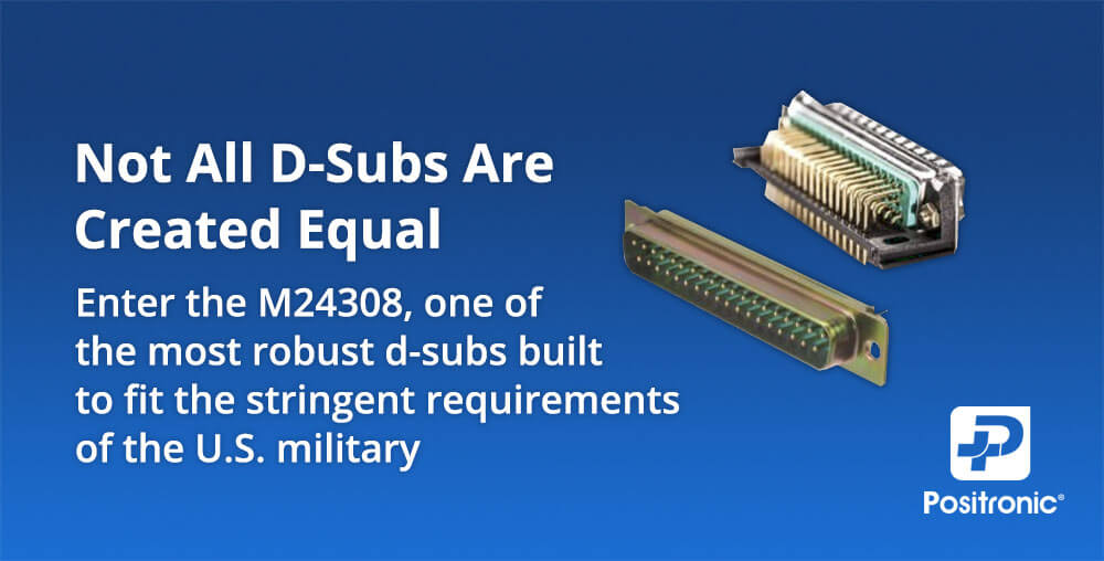 Positronic M24308 D-Sub