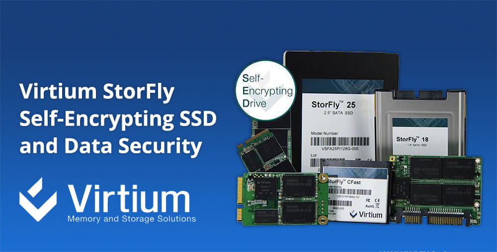 Virtium StorFly Self-Encrypting SSD