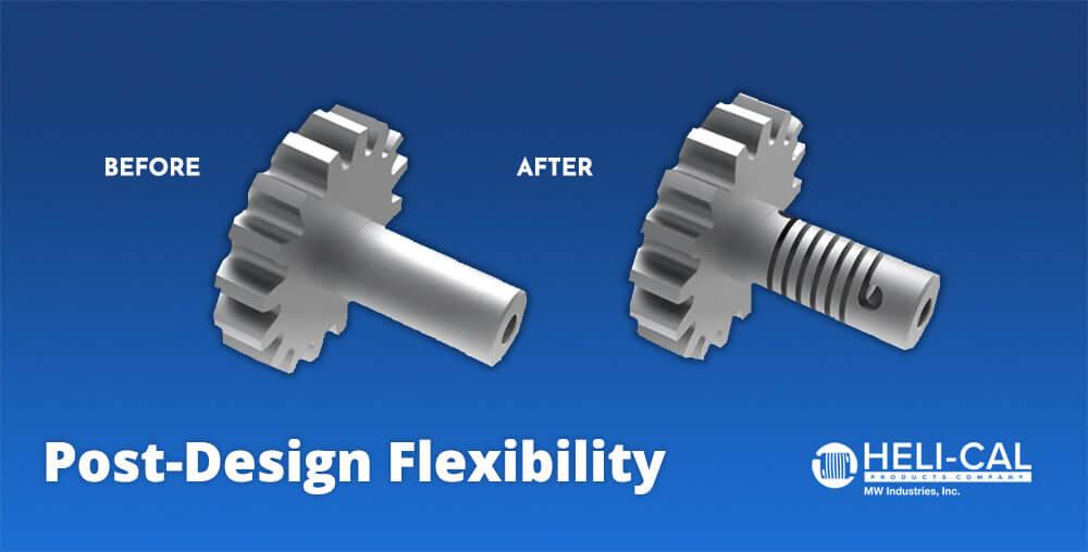 Post design flexibility