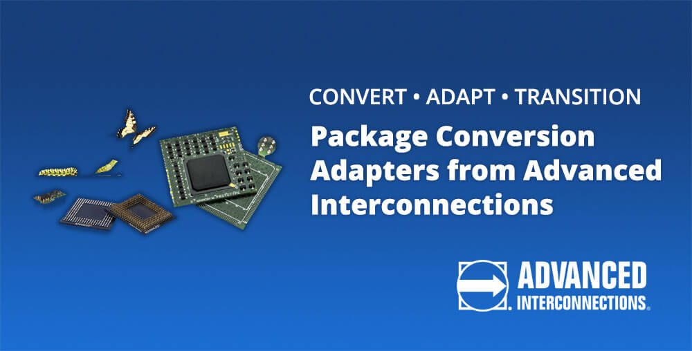package conversion adapters