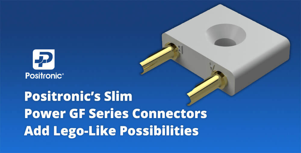 Positronic Slim GF Series Connectors