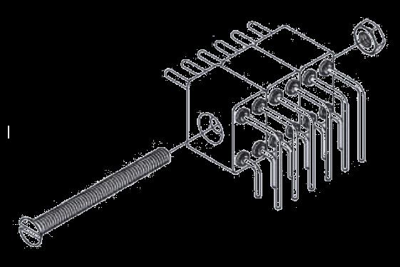 Stackable power connectors