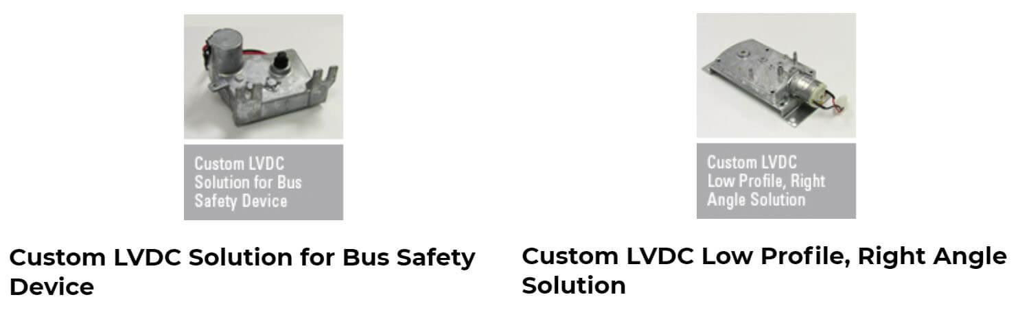 Custom motor solutions