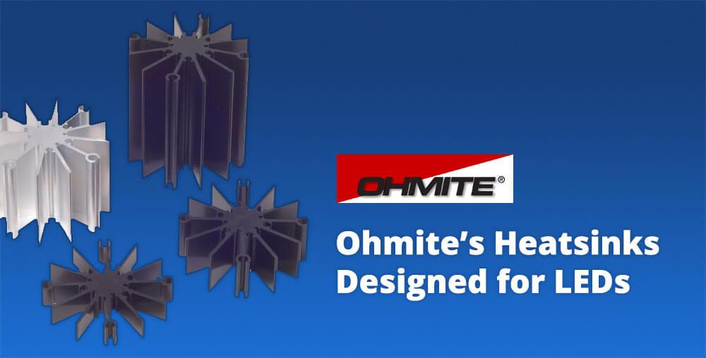 Ohmite heatsinks for leds