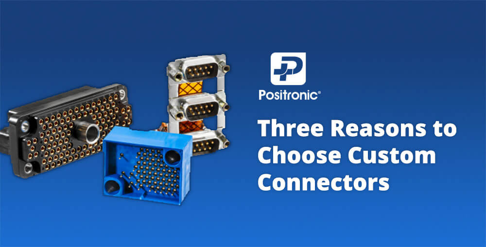 Reasons to use custom connectors