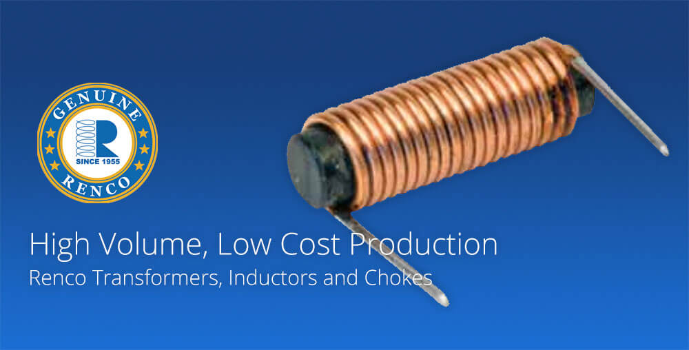 Low cost production chokes transformers inductors