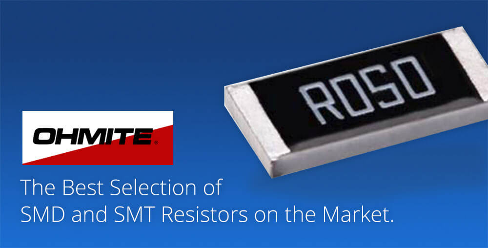 surface mount resistors by ohmite
