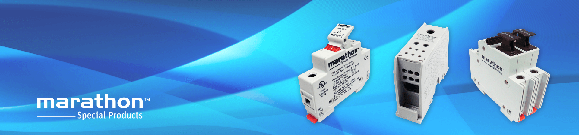 Power Blocks, Terminal Blocks, and Fuse Holders by Marathon Special Products