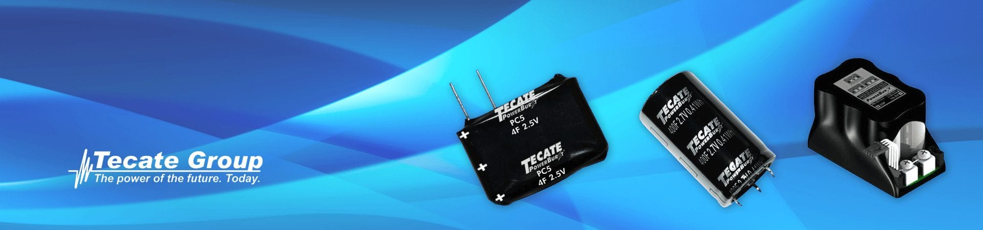 Ultracapacitor Modules, Ultracapacitor Cells, and Capacitors by Tecate Group