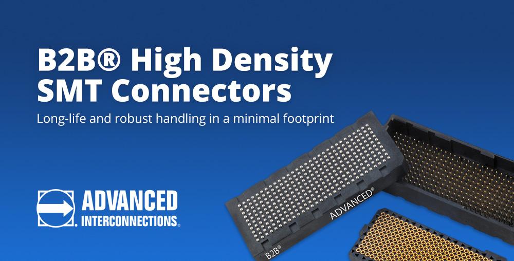 B2B High Density SMT Connectors