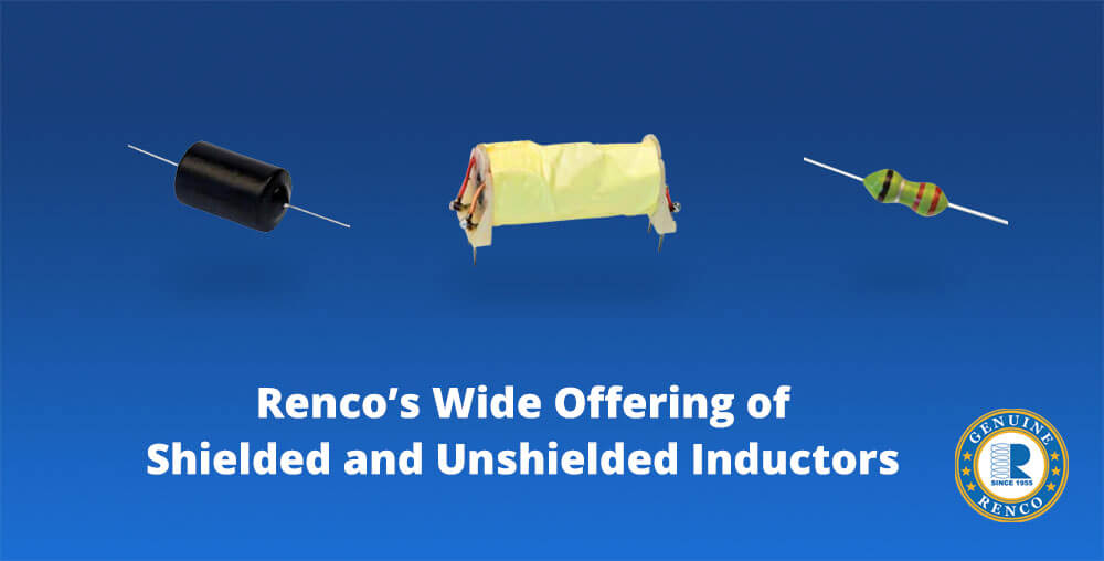 Shielded and unshielded inductors