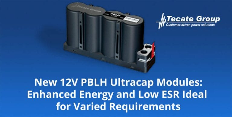 PLBH Ultracap modules 12V - Tecate