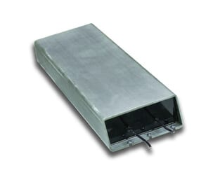 aluminum cased power resistor