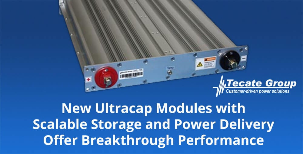 18V and 54V PLBH Ultracapacitor Modules - Tecate