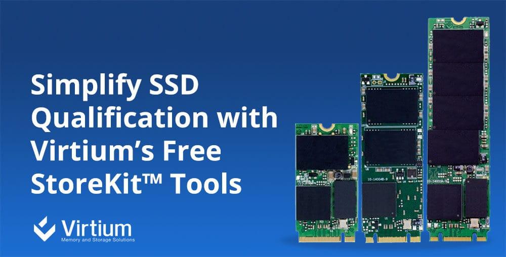 Virtium StoreKit tool for SSDs