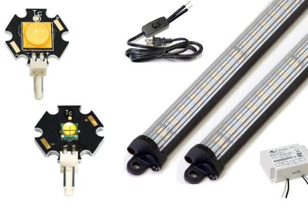 linear led lighting and modules