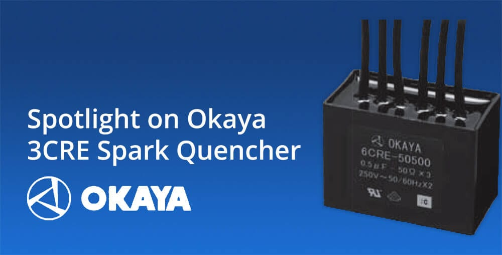 Okaya 3CRE 250V AC three phase spark quencher