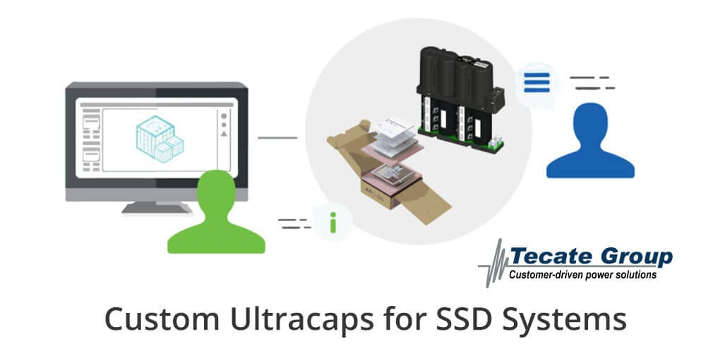 Custom ultracaps for SSDs