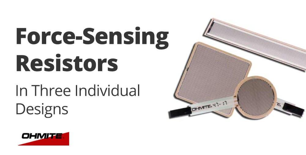 Force Sensing Resistors