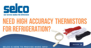 Selco overmolded thermostats for refrigeration