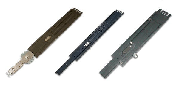 Solid bearing slides